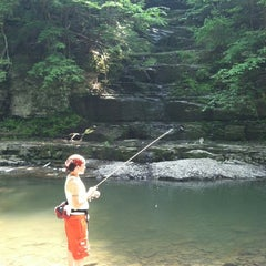 Photo taken at Six Mile Creek by Melissa M. on 5/28/2012