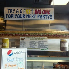 Photo taken at Larry's Giant Subs by Michelle E. on 5/20/2012