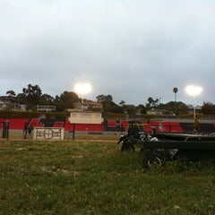 Photo taken at La Jolla High School Track by Craig L. on 3/30/2012