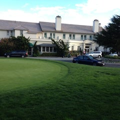 Photo taken at The Lodge at Pebble Beach by Greta P. on 3/26/2012