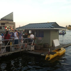 Photo taken at Water Taxi Landing 2 - Harborplace by Steven M. on 6/16/2012