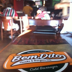 Photo taken at BemDito Steaks & Burgers by Lucas M. on 2/26/2012