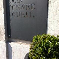 Photo taken at Casa Torner i Güell by Francesc H. on 3/26/2012