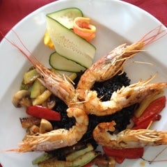 Photo taken at Caruso by Hafa K. on 8/15/2012