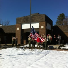 Photo taken at Midlothian Library by Richmond M. on 2/20/2012