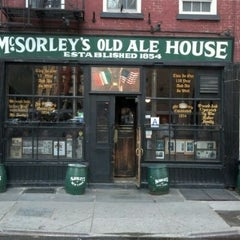 Photo taken at McSorley's Old Ale House by Vaughn L. on 3/28/2012