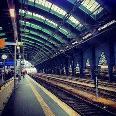 Photo taken at Berlin Ostbahnhof by Ilya on 5/11/2012