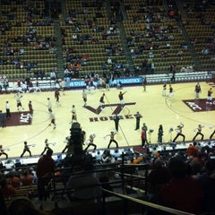 Photo taken at Cassell Coliseum by Tyler W. on 2/12/2012