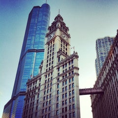 Photo taken at Wrigley Building by Kevin D. on 7/4/2012