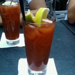 Photo taken at Blue Line Lounge and Grill by MERCEDEZ G. on 8/25/2012