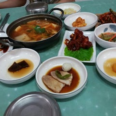 Photo taken at 흥덕식당 by Jung M. on 7/27/2012