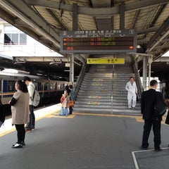 Photo taken at 茨木駅 (Ibaraki Sta.) by Juliana 蔡. on 4/24/2012