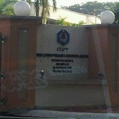 Photo taken at Pusat Latihan Pengajar dan Kemahiran Lanjutan (CIAST) by Amir A. on 2/25/2012