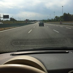 Photo taken at A4 Torino - Trieste by giacomo abbà™ on 8/29/2012
