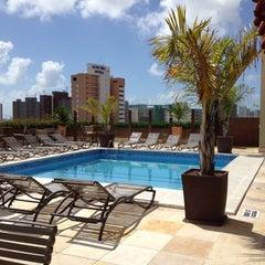 Photo taken at Praia Centro Hotel Fortaleza by Marina C. on 6/7/2012