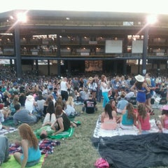Photo taken at Hollywood Casino Amphitheatre by Alexis L. on 7/29/2012