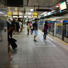 Photo taken at 捷運台北車站 MRT Taipei Main Station by Xanga K. on 8/23/2012