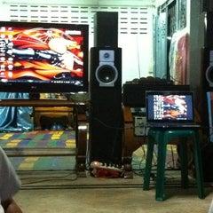 Photo taken at วัดทับกฤชกลาง by Aom N. on 6/30/2012