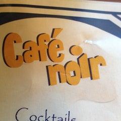 Photo taken at Cafe Noir by Coskun K. on 4/8/2012