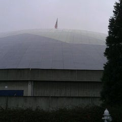 Photo taken at Tacoma Dome by Kendra E. on 2/17/2012