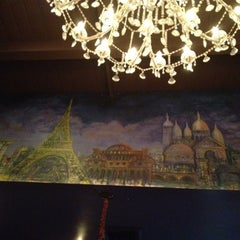 Photo taken at La Creperie Cafe by Jei R. on 3/12/2012