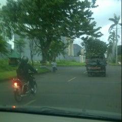 Photo taken at Taman kebon jeruk Q7 by Annisa Ramdhani K. on 5/7/2012
