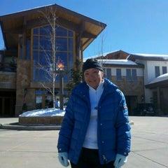 Photo taken at Stein Eriksen Lodge Deer Valley by Greg A. on 2/24/2012