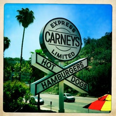 Photo taken at Carney's by Simon D. on 5/27/2012