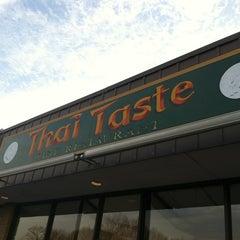 Photo taken at Thai Taste by Eric G. on 3/4/2012