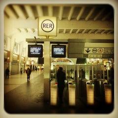 Photo taken at RER La Défense – Grande Arche [A] by brian s. on 6/12/2012
