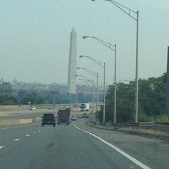 Photo taken at John Philip Sousa Bridge by Jocelyn M. on 8/22/2012
