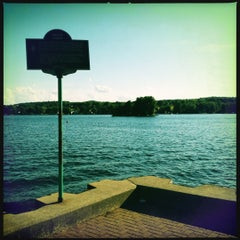 Photo taken at Canandaigua City Pier by Joe C. on 6/23/2012