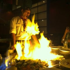 Photo taken at Kobe Japanese Steakhouse & Sushi Bar by Mandy C. on 9/10/2012