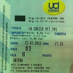 Photo taken at UCI Cinemas by Emmet B. on 7/22/2012