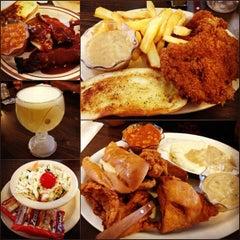 Photo taken at Chris' & Pitt's Restaurant by Remil M. on 7/3/2012