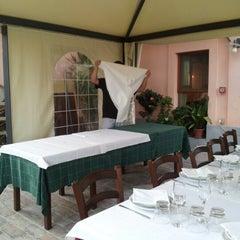 Photo taken at Trattoria Montechiaro by Francesca G. on 7/21/2012