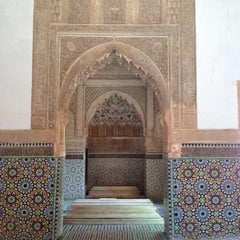 Photo taken at Saadian Tombs | قبور السعديين by Lauren P. on 6/2/2012