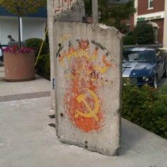 Photo taken at Berlin Wall by Ana Beatriz O. on 8/28/2012