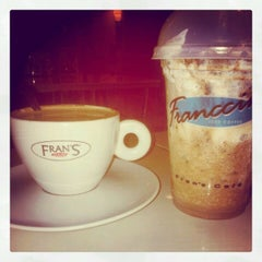 Photo taken at Fran's Café by Renan C. on 4/5/2012