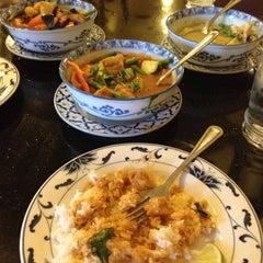 Photo taken at Thai Palace by Amanda S. on 6/19/2012