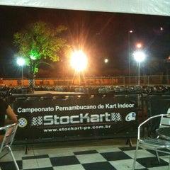 Photo taken at GKI Kart by Eduardo H. on 4/11/2012