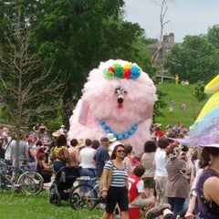 Photo taken at Patterson Park by Cosimo C. on 5/5/2012