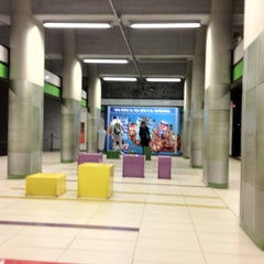 Photo taken at Metro Garibaldi FS (M2, M5) by Márcio A. on 6/21/2012