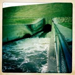 Photo taken at Saylorville Dam by Otis K. on 3/18/2012