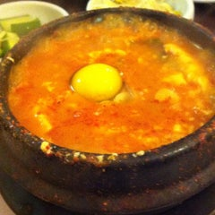 Photo taken at My Tofu House by Mike R. on 8/2/2012