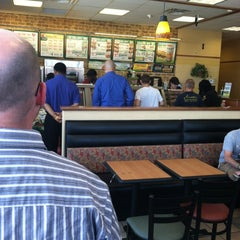 Photo taken at SUBWAY by Chancellor J. on 6/14/2012