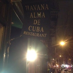 Photo taken at Havana Alma de Cuba by Greg B. on 2/12/2012