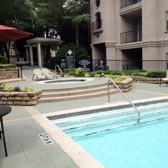 Photo taken at Villas At Montfort Pool #1 by Firebug on 5/6/2012