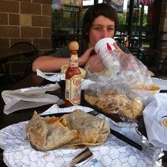 Photo taken at Bullritos by Logan R. on 9/3/2012