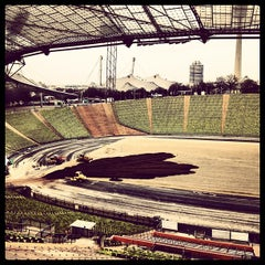Photo taken at Olympiastadion by Gunnar J. on 4/3/2012